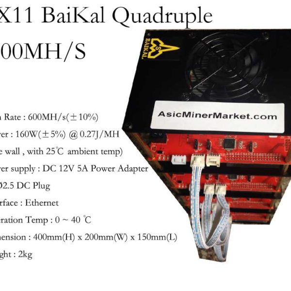 Baikal Quadruple 600MH/S