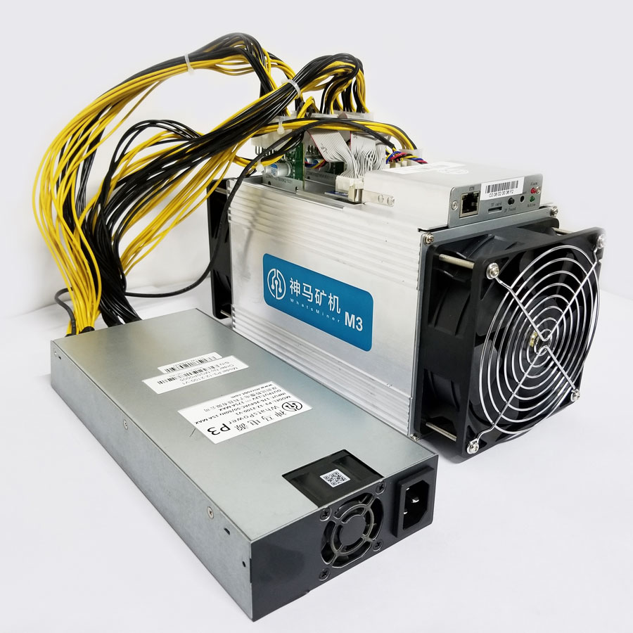 Bitcoin Miner WhatsMiner M3